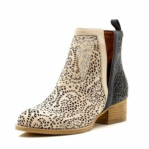 JEFFREY CAMPBELL Oriley Perforated Cut Out Boots