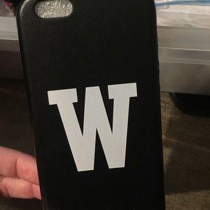 "Brandy Melville ""W"" iphone 6 case"