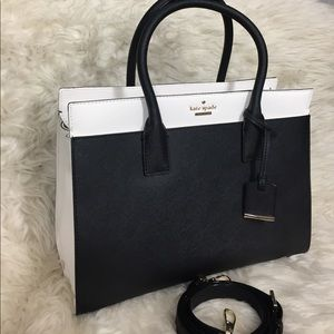 🌸OFFERS?🌸Kate Spade All Leather Two Tone Satchel