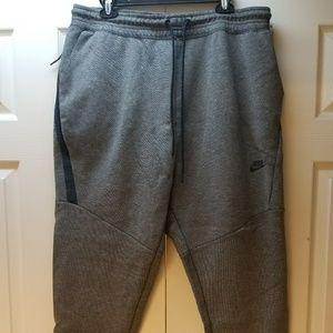 Men's Nike Gray and Navy Joggers