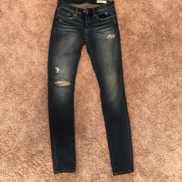 60a54fb33e1867 Blank NYC Jeans | Blanknyc Hotel Distressed Skinny | Poshmark