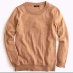 Sweaters - J. Crew Tippi in camel