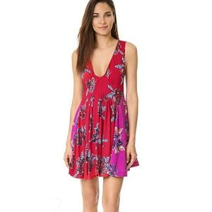 Free People Thought I was Dreamin Mini Dress