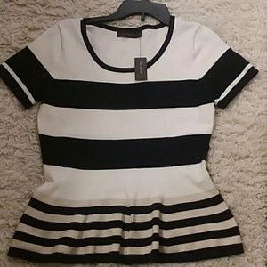NWT The Limited medium short sleeve sweater top