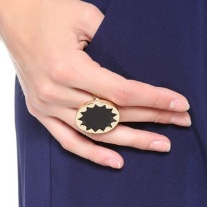 House of Harlow mini sunburst cocktail ring