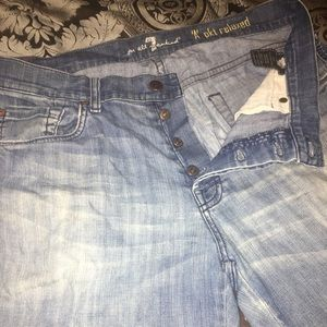 """Men's 7 for All Mankind """"A"""" pkt relaxes jeans"""