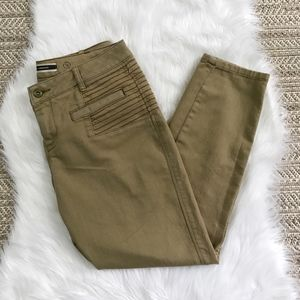 Anthropologie Slim Straight Cropped Trouser