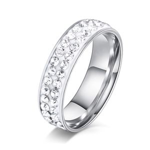 Jewelry - COMING SOON!! Stainless Steel Silver Diamond Ring