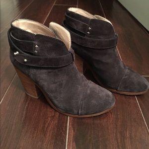 Rag & Bone black booties