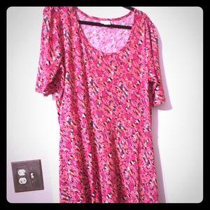 Lularoe 3xl Ana maxi dress 3/4 sleeves BNWOT