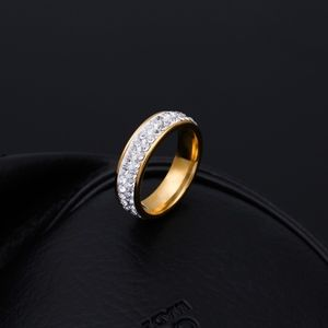 Jewelry - COMING SOON!! Stainless Steel Gold Diamond Ring