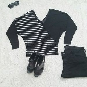 BEBE Asymmetrical Top