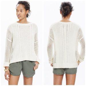 Madewell Plaza Pullover Sweater, Small, EUC