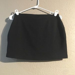 Black Express Size XS Mini Skirt