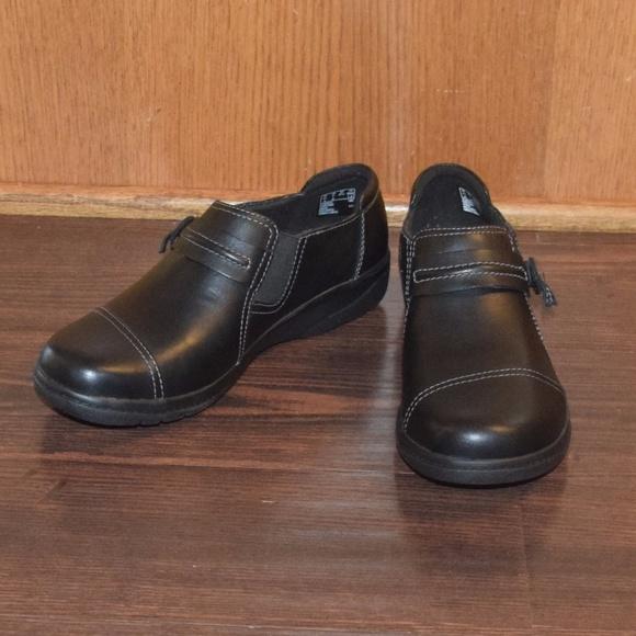 eef19b72e83 Clarks Shoes - Clarks - Cheyn Madi - Black Smooth Leather