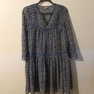 Anthropologie holding horses size 2 dress