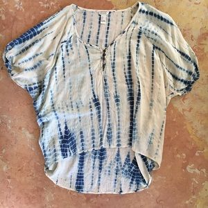 Forever 21 Shibori Dyed Top
