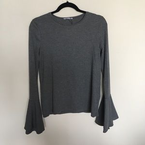 New with tag Zara Bell sleeve top