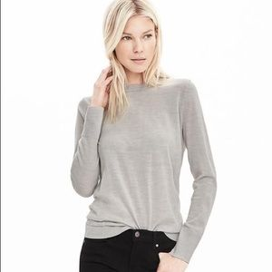 FINAL PRICE | BR Extra Fine Merino Wool Pullover