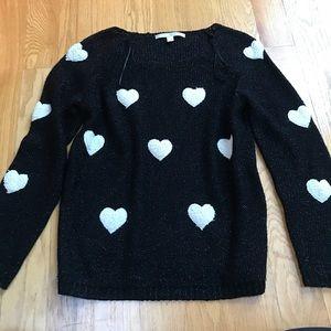 Lauren Conrad Heart Sweater M