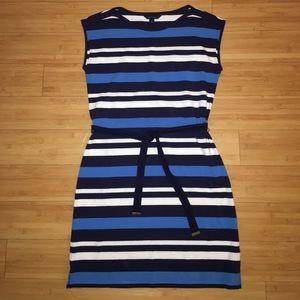 NWOT Tommy Hilfiger striped dress with belt