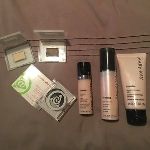 Mary Kay skin care and eyeshadows