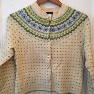 beautiful fair isle sweater