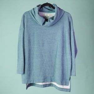 Lou and Grey Medium Cowl Neck Oversized Sweatshirt
