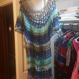 Dresses & Skirts - Crochet tunic