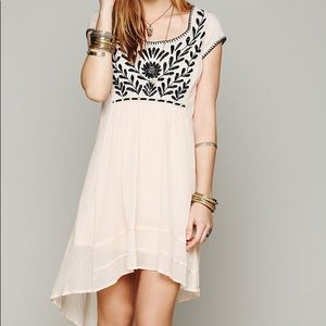 Free People Marina Embroidered Dress, size S