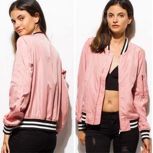 Jackets & Blazers - Pink Lady Bomber Jacket
