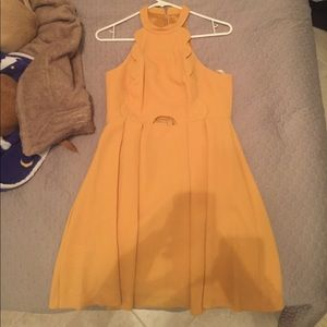 Yellow/Gold cocktail dress