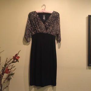Bisou Bisou leopard print dress