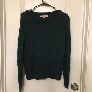 Green Sweater Ann Taylor Loft