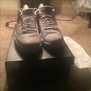new arrivals b90b5 fade4 Jordan 12s all grey low tops