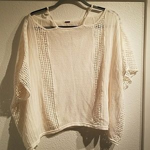 Off-white Free People Short-sleeved Sweater