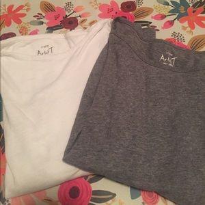 2 Long sleeve JCrew shirts