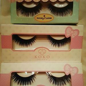 3 Brand new pairs of eyelashes! Really nice!!