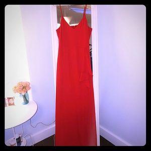 Express Red Maxi Dress