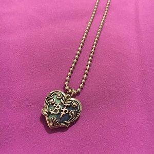 Best friend charm necklace