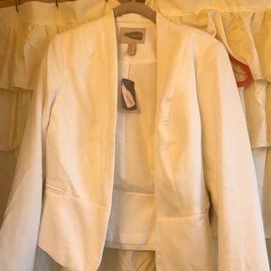 New white blazer
