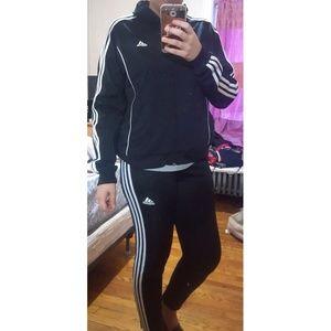 Adidas Original Black Track Skinny Pants M