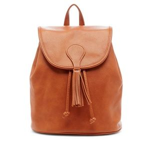 Sole Society mini backpack faux leather like new.