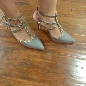 Brand new BCBG studded shoes.
