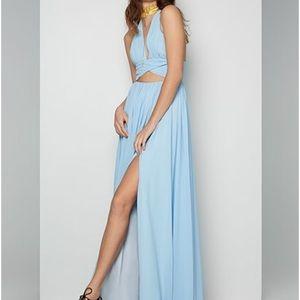 Fame  and Partners Light Blue Never Worn Dress
