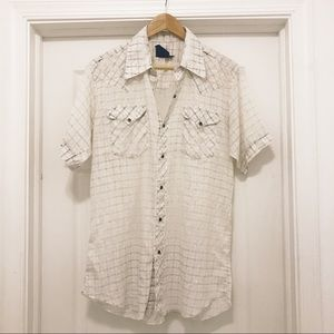 Vintage faded button down