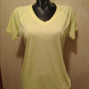 DANSKIN  NOW LOOSE FIT YELLOW  SIZE LARGE