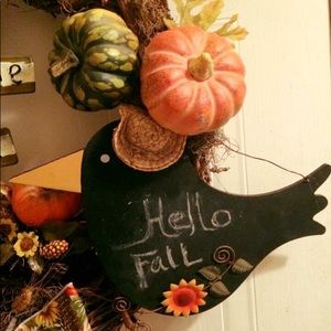 Other - Fall Harvest Welcome Home Rake wreath