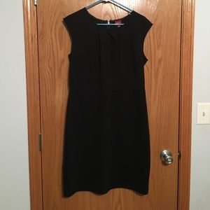 Structured Black Dress