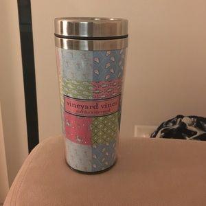 Vineyard vines travel coffee mug